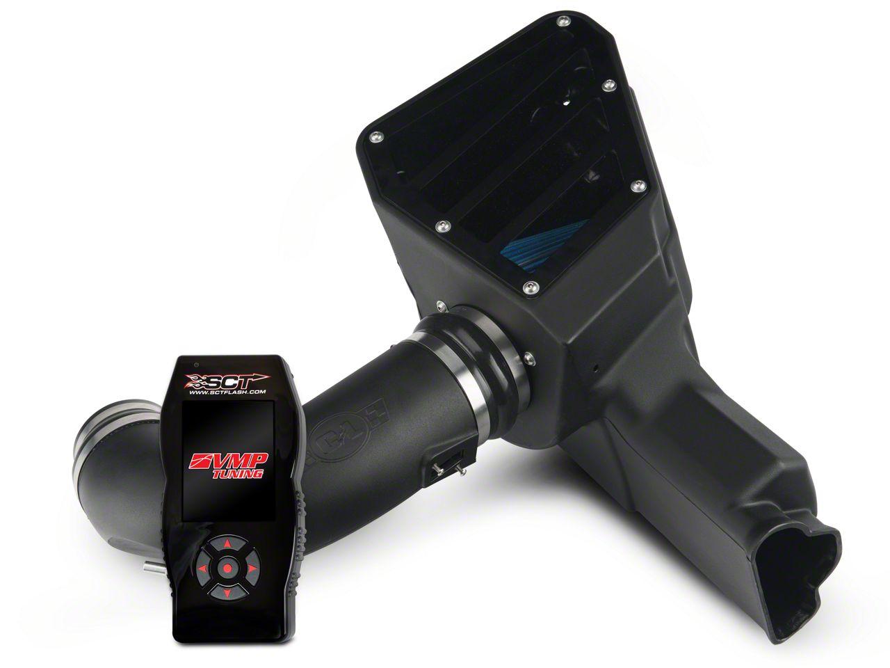 C&L Street Cold Air Intake & SCT X4 Tuner w/ VMP Tunes (15-17 GT)