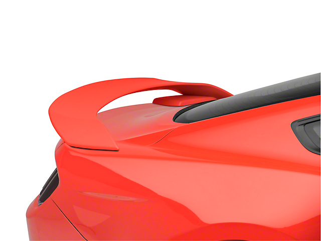 SpeedForm GT350R Style Rear Spoiler; Primed (15-20 Fastback)