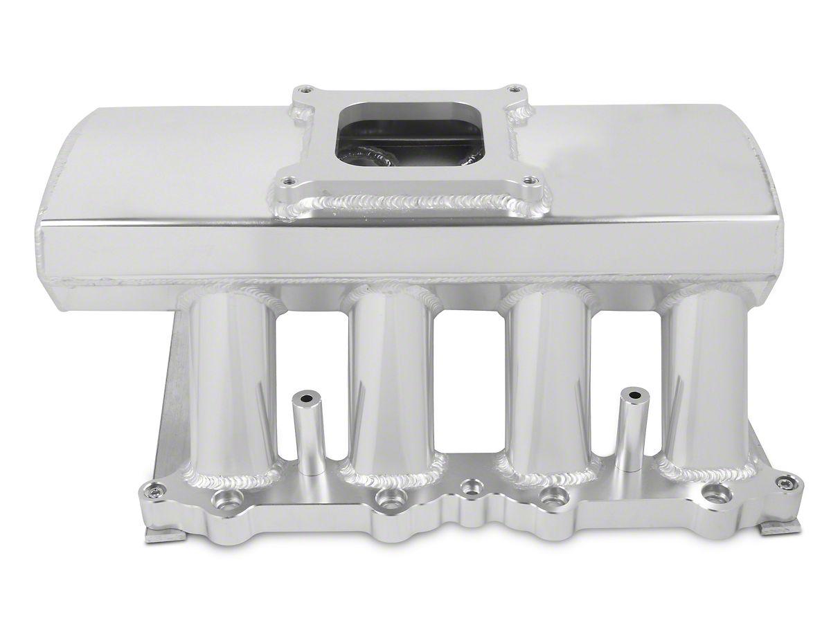 Sniper Hi-Ram Single Plane EFI Fabricated Intake Manifold w/ Fuel Rail Kit  - Silver (11-14 GT)