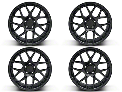 Black AMR 4 Wheel Kit - 19x8.5 (05-14 All)