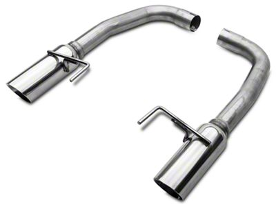 SR Performance Muffler Delete Axle-Back Exhaust w/ Polished Tips (15-17 GT)