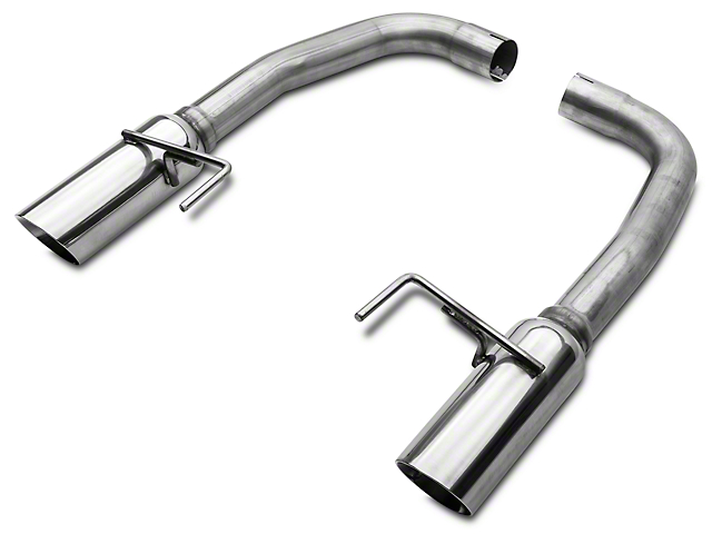 SR Performance Muffler Delete Axle-Back Exhaust - Polished Tips (15-17 GT)