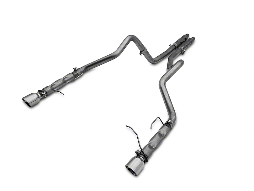 Stainless Works 2.5 in Retro Chambered Dual Cat-Back Exhaust (11-14 V6)