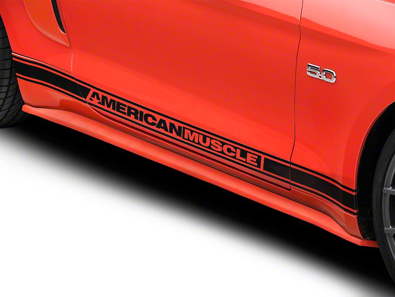 RK Sport Fiberglass Rocker Panels - Unpainted (15-17 GT, EcoBoost, V6)