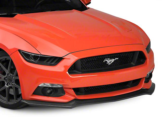 Front Splitter; Carbon Fiber (15-17 GT, EcoBoost, V6)