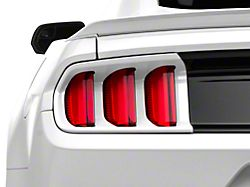 MMD Pre-Painted Tail Light Trim; Oxford White (15-17 All; 18-20 GT350)
