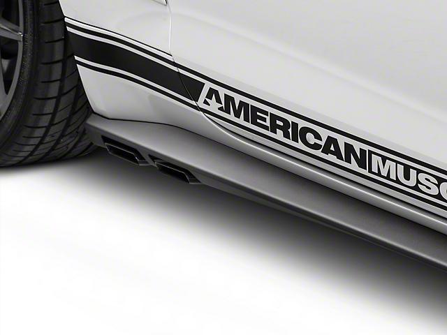 MMD V-Series Side Exit Cat-Back Exhaust w/ Rocker Panels (15-17 GT Fastback)
