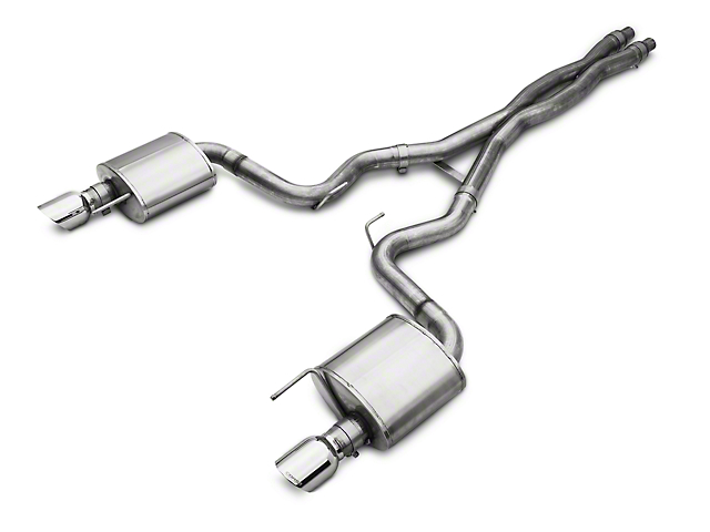 Corsa Sport Cat-Back Exhaust w/ Polished Tips (15-17 GT)