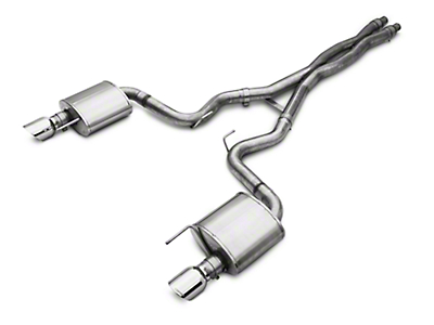 Corsa Sport 3in Cat-Back Exhaust (15-17 GT Fastback)