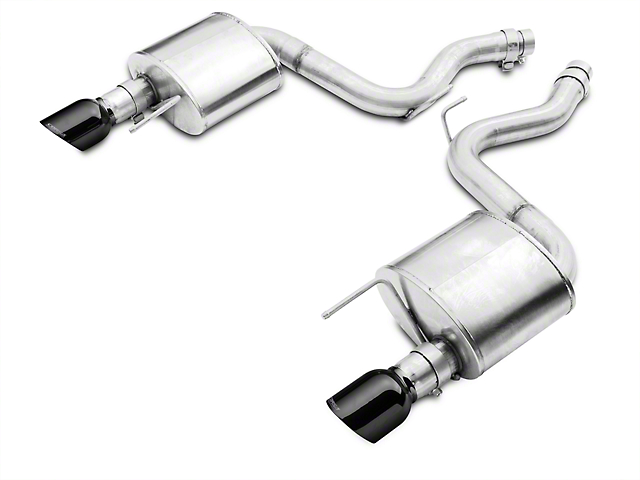 Corsa Sport Axle-Back Exhaust - Black Tips (15-17 GT)