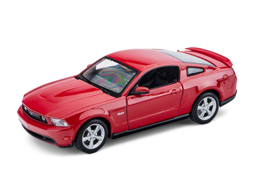 Maisto 2011 Red Ford Mustang GT Diecast Model - 1:24 Scale