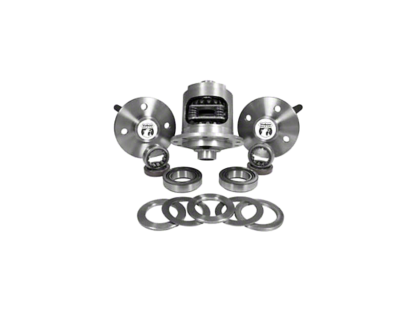 Yukon Gear 8.8 Axle Kit - 31 Spline, 4 Lug w/ DuraGrip Positraction (79-93 5.0L)