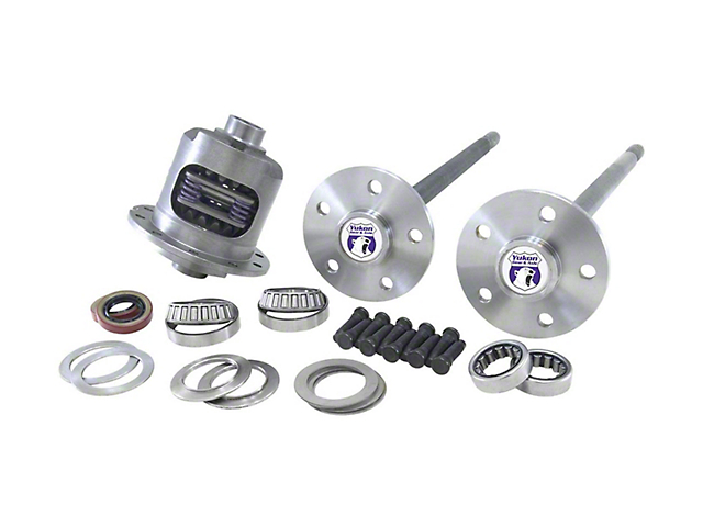 Yukon Gear 8.8-Inch Duragrip Posi Rear Differential with 5-Lug Axles; 28 Spline (86-93 5.0L)