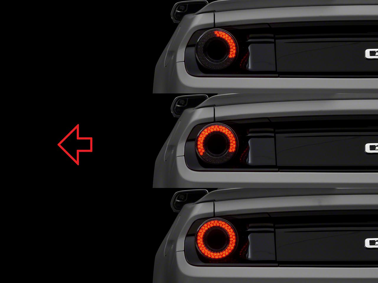 Raxiom Halo LED Tail Light - Smoked (15-17 All)