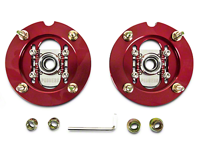 Pedders Adjustable Camber Plates for Extreme XA Coil-Overs (05-14 All)