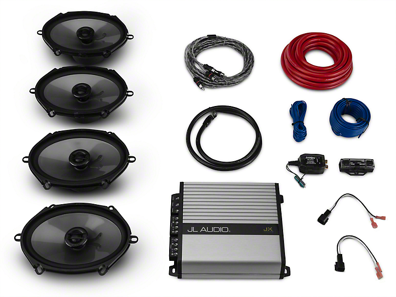 Raxiom by JL Audio Base Stereo Upgrade Kit (15-18 w/ Base Stereo)