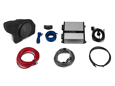 Raxiom by JL Audio Subwoofer Upgrade Kit (15-18 Fastback w/ Factory Subwoofer)