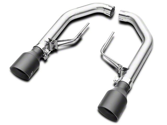 Mishimoto Race Axle-Back Exhaust - Black Tips (15-17 GT)