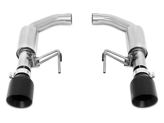 Mishimoto Pro Axle-Back Exhaust - Black Tips (15-17 GT)