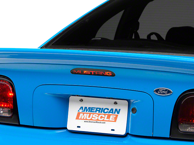 American Muscle Graphics Third Brake Light Decal (94-98 All, Excluding 94-95 Cobra)
