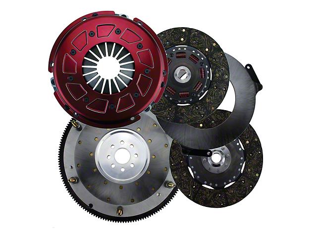 RAM Pro Street Dual Disc Clutch w/ 8 Bolt Aluminum Flywheel - 23 Spline (11-17 GT)