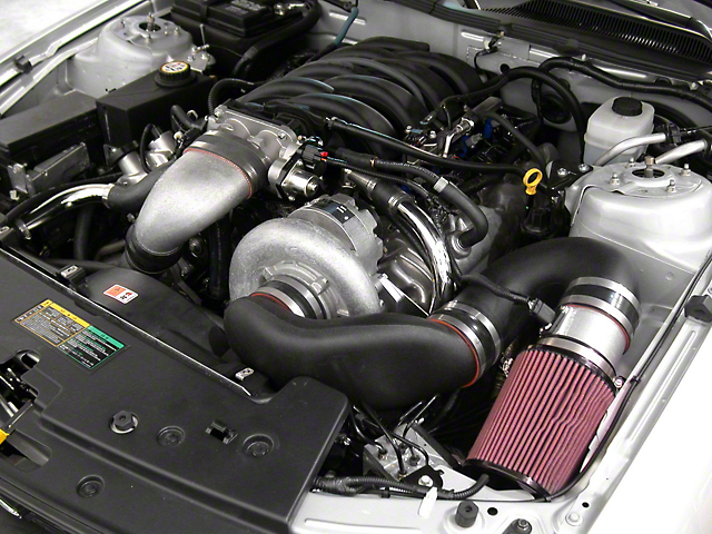 Paxton Supercharger System w/ Novi 2200 - Satin Finish (2010 GT)