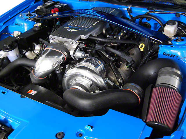 Paxton Supercharger System w/ Novi 2200 - Polished Finish (2010 GT)