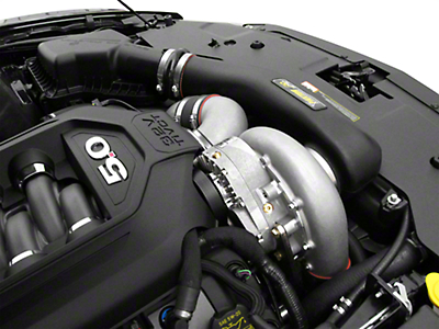 Paxton 8 Rib Novi 2220SI H.O. Supercharger System - Tuner Kit - Satin (11-14 GT)
