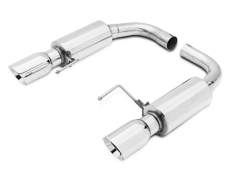 Axle-Back Exhaust w/ Polished Tips (15-17 GT)