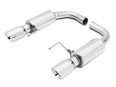 GMS Axle-Back Exhaust - Stainless (15-17 GT)