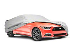 SpeedForm Universal Fit Car Cover; Gray (79-21 All)