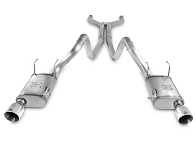 AFE Mach Force XP 3 in. Cat-Back Exhaust - Polished Tips (11-14 GT)