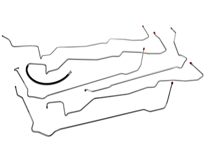 OPR Fuel Line Kit; Steel (94-95 GT)