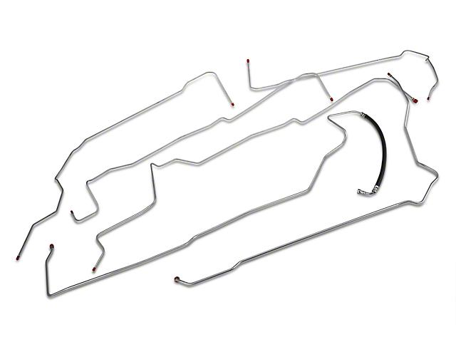 OPR Fuel Line Kit; Steel (96-98 GT)