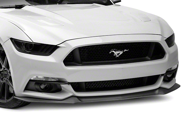 MMD Fog Light Splitters - Matte Black (15-17 GT, EcoBoost, V6)