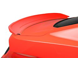 SpeedForm GT350 Style Track Pack Rear Spoiler; Pre-Painted; Black (15-20 All)