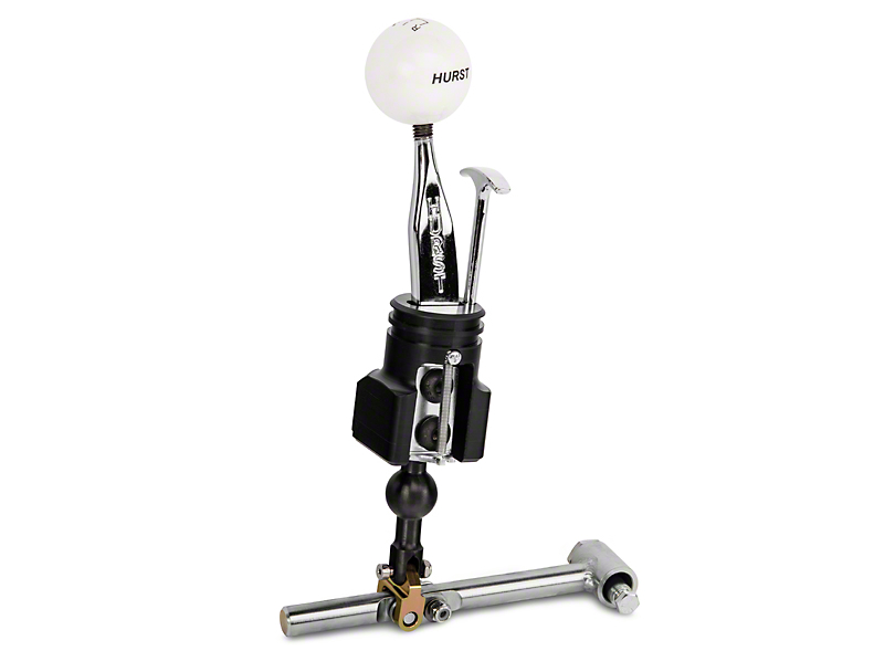 Hurst Competition Plus Short Throw Shifter with Classic White Knob (15-20 GT, EcoBoost, V6)