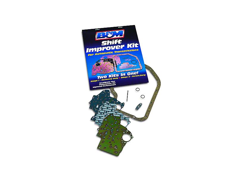 B&M Transmission Shift Improver Kit; AODE and 4R70W (92-95 GT, V6)