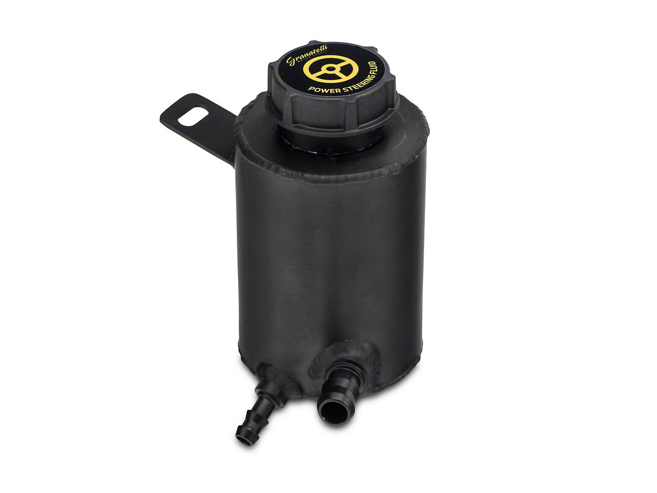GMS Aluminum Remote Power Steering Reservoir - Black Anodized (05-10 GT, GT500)