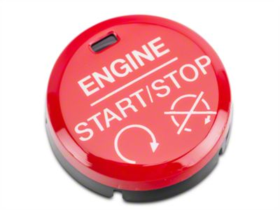 Add GT350/GT350R Style Red Push Start/Stop Button (15-17 All)