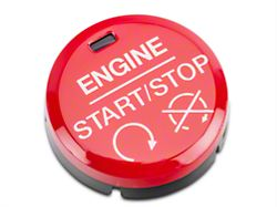 Modern Billet GT350/GT350R Style Red Push Start/Stop Button (15-17 All)