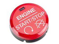 Modern Billet GT350/GT350R Style Red Push Start/Stop Button (15-17 All)