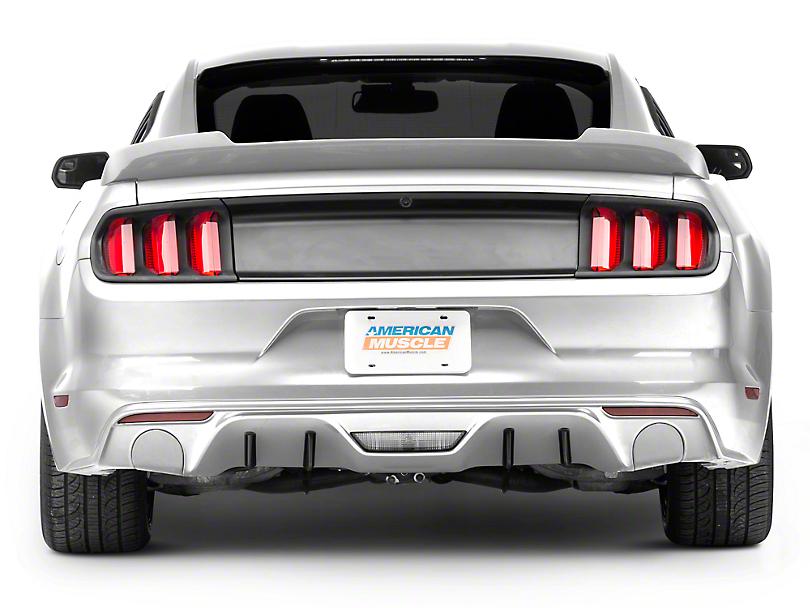 MMD Rear Diffuser Fins (15-17 GT, EcoBoost, V6 w/Non-Premium Rear Bumper)