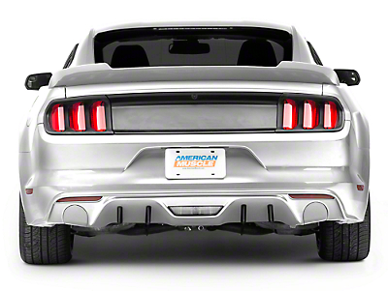 MMD Rear Diffuser Fins (15-17 GT, EcoBoost, V6 w/ Non-Premium Rear Bumper)