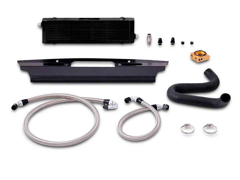 Mishimoto Black Oil Cooler Kit (15-17 GT)