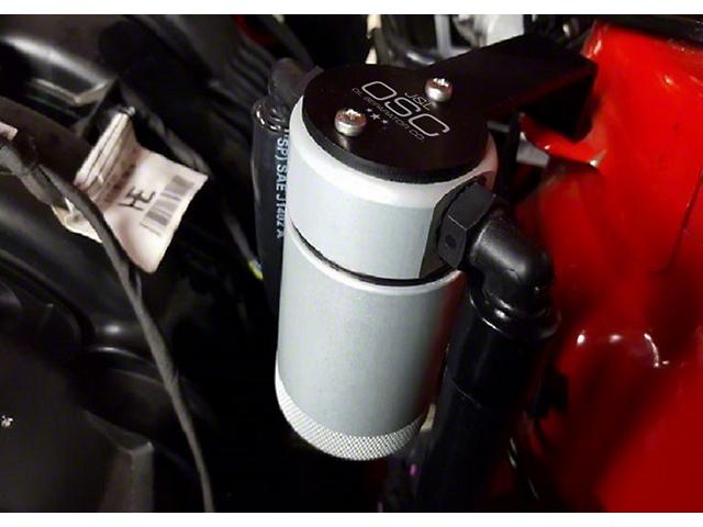 JLT V3.0 Satin Oil Separator - Driver Side (15-17 Ecoboost)