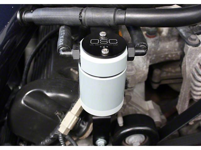 JLT V3.0 Satin Oil Separator - Passenger Side (99-04 GT, Bullitt)