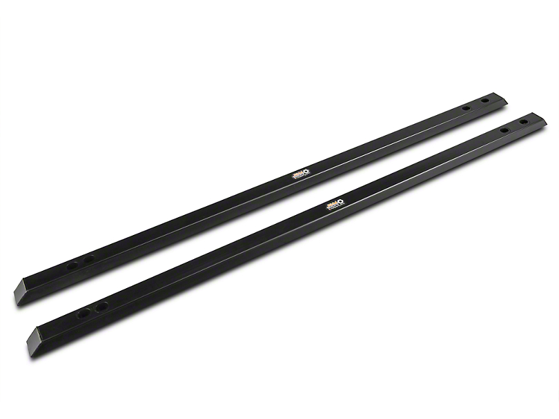 J&M Full Length Chassis Jacking Rails - Black (15-18 Fastback)