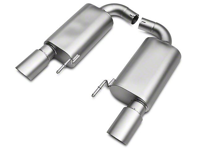 LTH Axle-Back Exhaust System w/Titan Tip (15-17 GT)