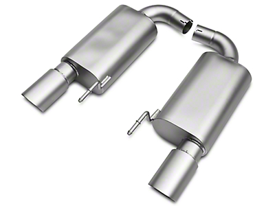 LTH Axle-Back Exhaust System - Titan Tip (15-17 GT)